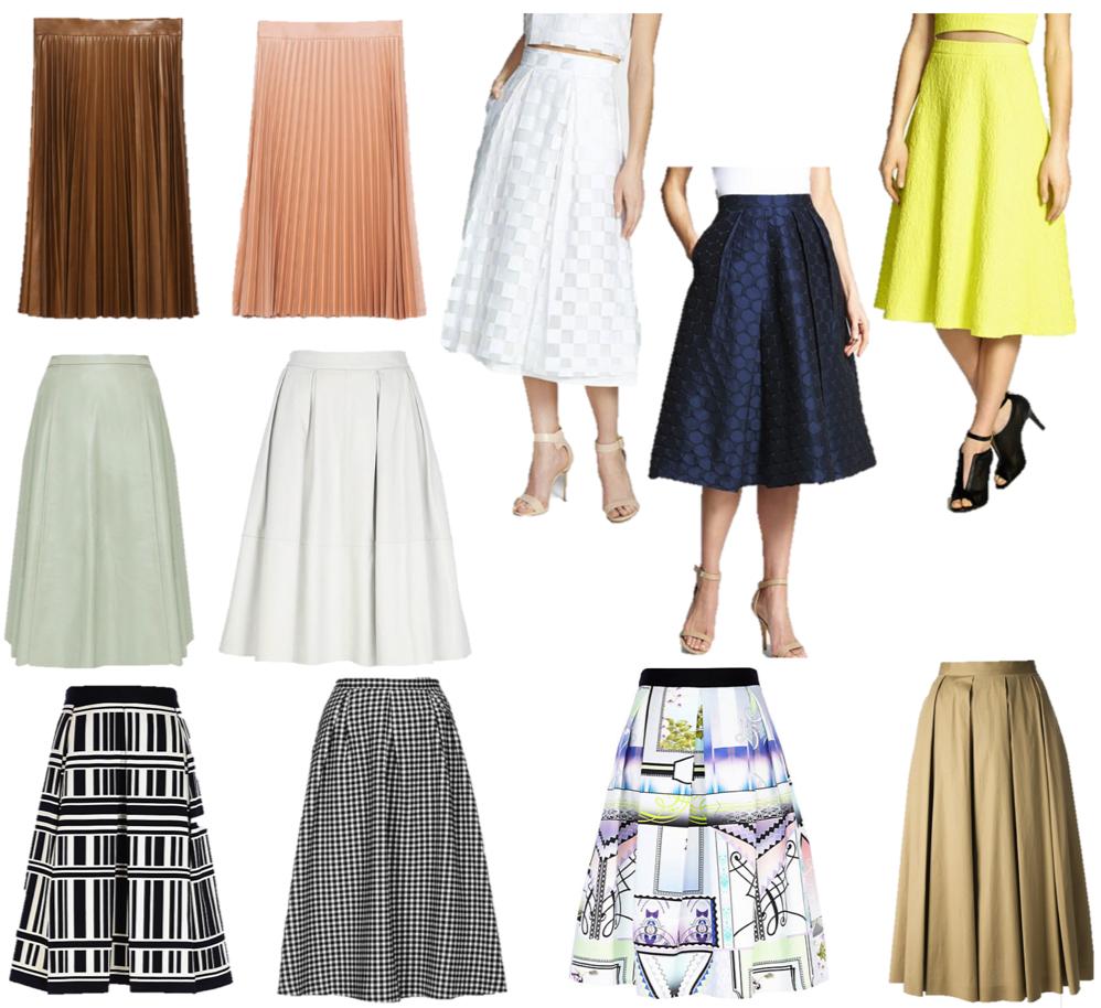 Trend Lust: Midi Skirts | According to Yanni D