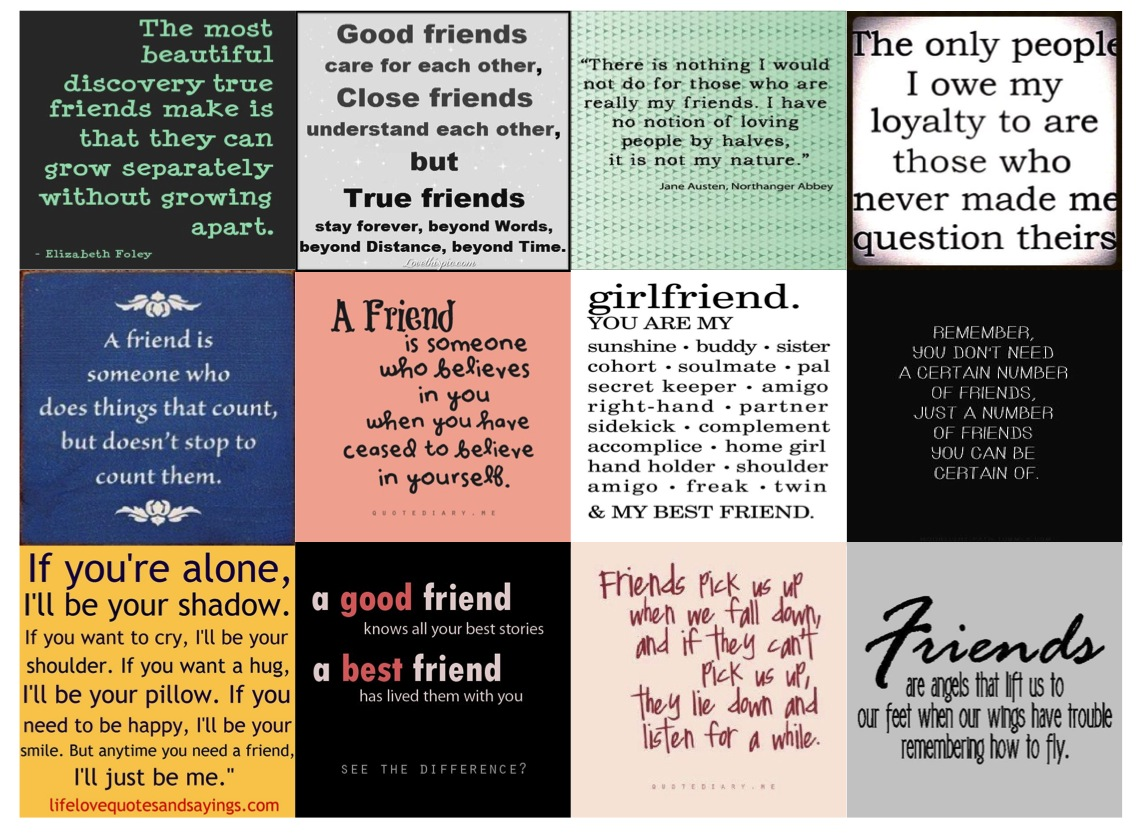 Quotes of the Week Friendship   According to Yanni D