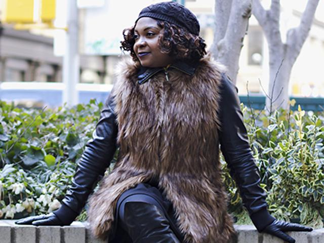 Faux Fur Swag Slider 1